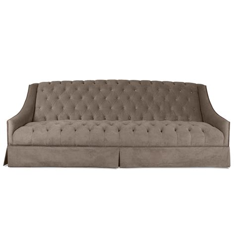 tuscany tufted velvet sofa south cone home furniture