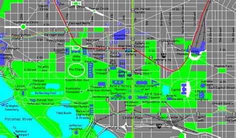 washington dc political map architecture