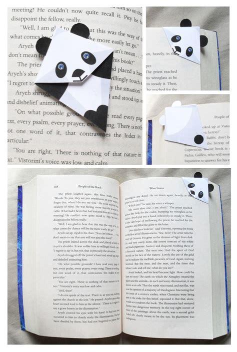 Origami Panda Bookmark - best 25 panda ideas on