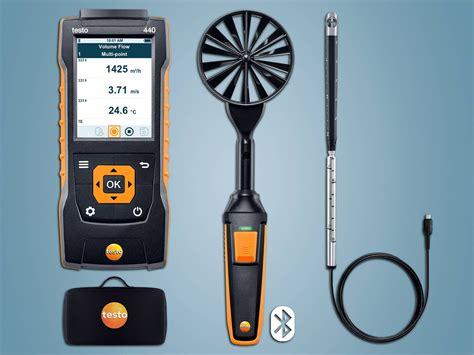 no air testo testo 440 air velocity measurement testo inc