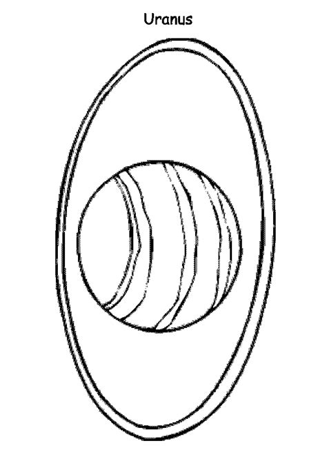 coloring pages of uranus the planet uranus coloring page