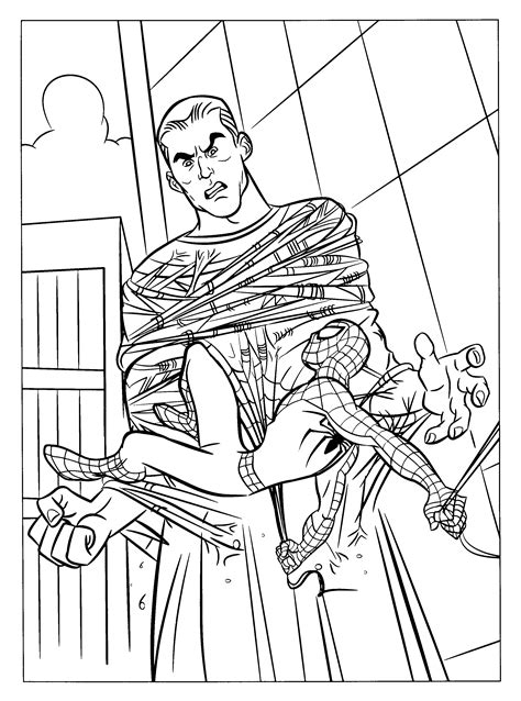 coloring pages spiderman 3 spiderman 3 coloring pages