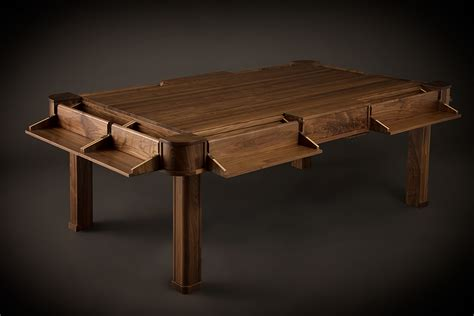 geek chic board game tables the awesomer