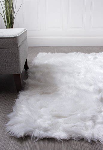 white nursery rug buy a soft faux sheepskin nursery rug in ivory white