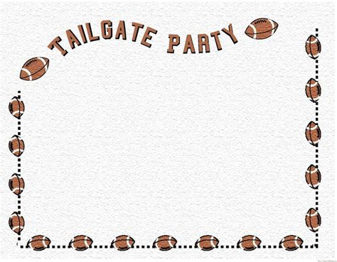 1000 Images About Adk Program On Pinterest Football Boy Boy And Image Search Tailgate Template