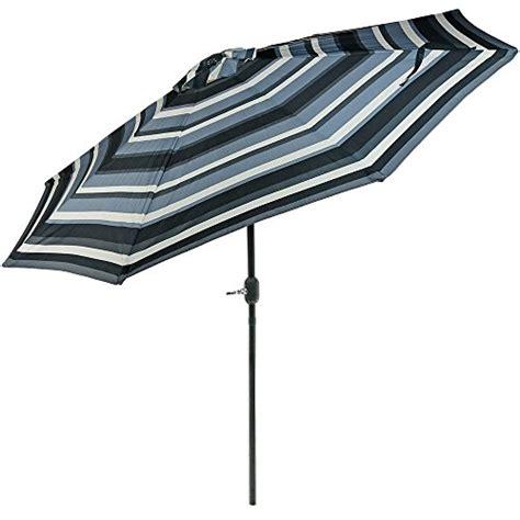 Sunnydaze 9 Foot Aluminum Patio Umbrella With Push Button Sunnydaze Aluminum 9 Foot Patio Umbrella With Tilt Crank