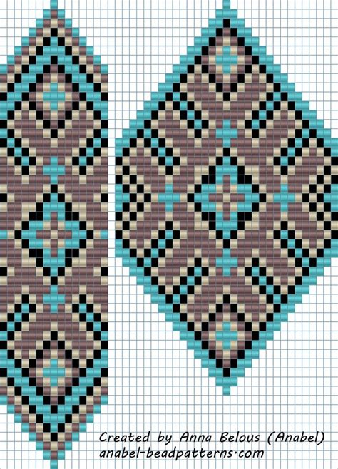 loom seed bead patterns схема гердана quot сиренево бирюзового quot станочное ткачество