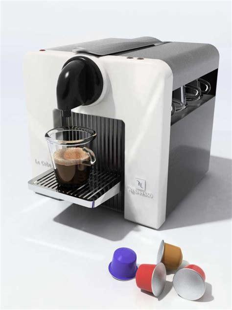 nespresso le cube 3d model