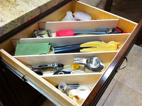 8 smart ways to add space in your kitchen drawers design