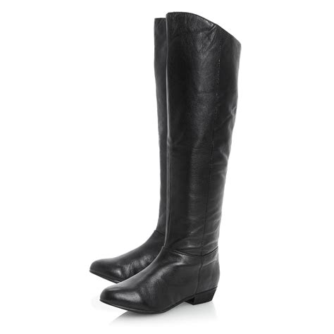steve madden knee high boots steve madden creationsimple knee high boots in black