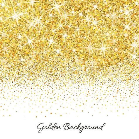 Home Decoration Wallpaper by Gold Glitter Texture Isolated On White Background Vector