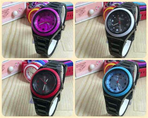 Jam Tangan Adidas Karet Jelly ginda collection new jam tangan smash jelly colour