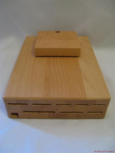 wusthof cabinet knife block new wusthof 9 slot wood knife block cabinet color storage