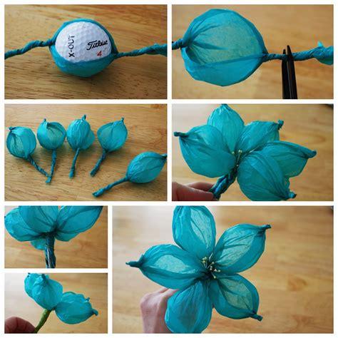 flores en papel seda paso a paso manualidades con papel hermosa flor de seda un mundo