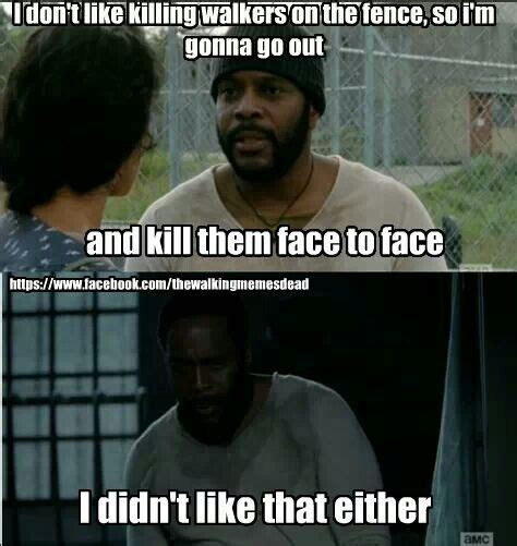 Tyreese Walking Dead Meme - oh tyrese the walking dead walking dead pinterest
