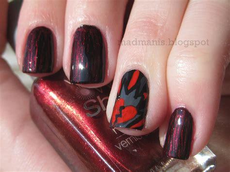 anti nails mad manis anti valentines day