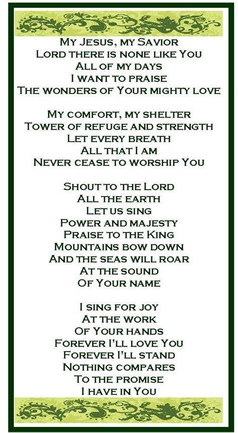 God Of All Comfort Lyrics by 25 Best Ideas About Praise And Worship On