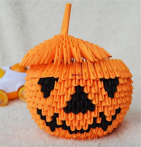 3d Origami Pumpkin - origami decorations reviews shopping