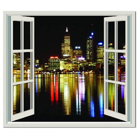 perth city view wall sticker window wall decal perth
