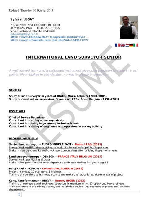 land surveyor cover letter land surveyor resume 2013 legat