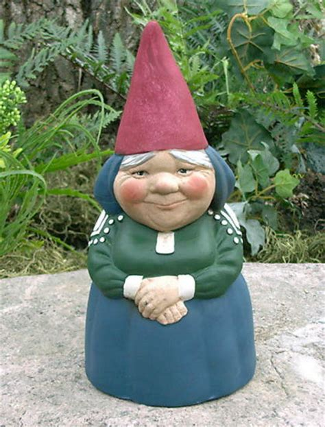 Garden Nome by Mrs Gnome Rein Poortvliet Style Garden Gnome