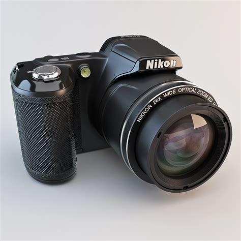 nikon digital models 3d model nikon coolpix l810