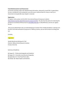 Speaker Confirmation Letter Template by 2011 Research Symposium Speaker Confirmation Email