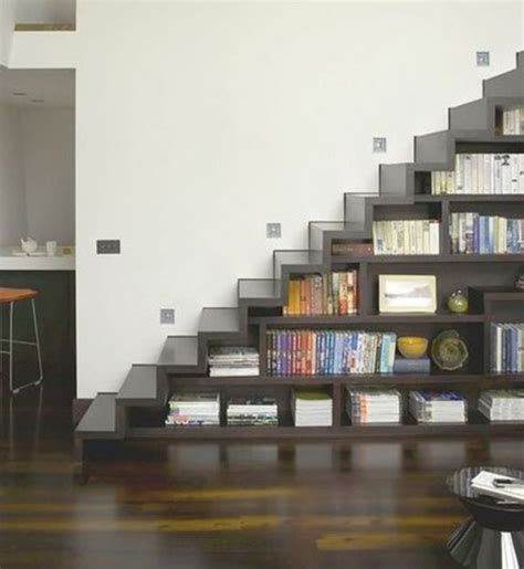 smart bookshelf staircase designs iroonie