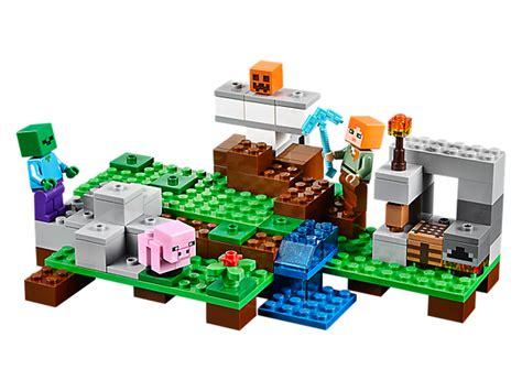 Lego Myspace Minecraft Sy270 6 the iron golem lego shop