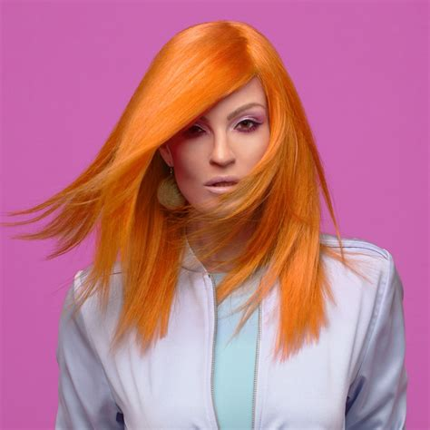chi color chi chromashine bright pastel orange chi hair care