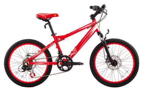 ferrari bicycle ferrari cx 30 20 quot children s bike review