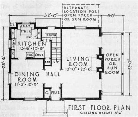 Center Hall Colonial Floor Plan by Free Home Plans Center Hall Colonial Floor Plans