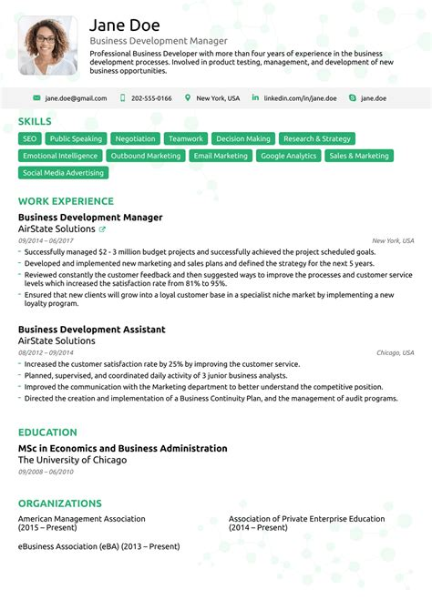 companies beautiful proper format for a resume free career resume