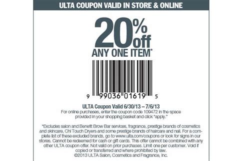 ulta coupons promos coupon codes 2015 retailmenotcom ulta coupon codes may 2015