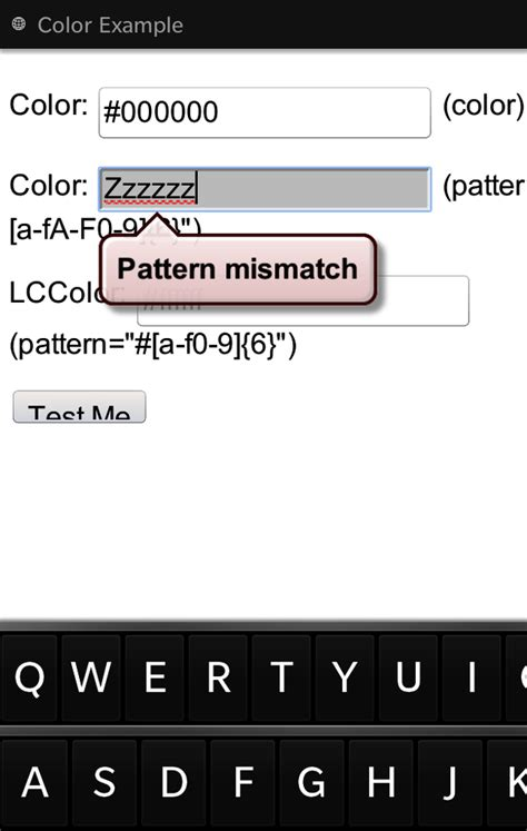 pattern html5 validation 4 html5 web forms mobile html5 book