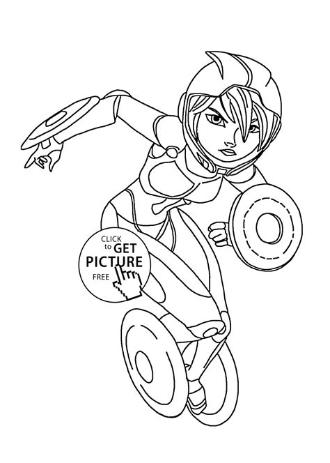 printable coloring pages for big hero 6 gogo tomago hero coloring pages for kids printable free