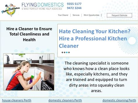 cleaning your kitchen hire a professional kitchen cleaner