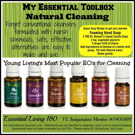7 Recipes For Cleaners by 171 Best Living Essential Oils Images On