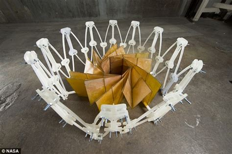 Origami Power - origami space flowers to beam energy to earth