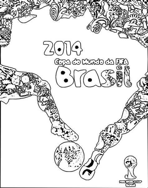 Coloring Page 2014 Fifa World Cup 15 World Cup Coloring Pages