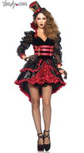 victorian vamp costume red and black victorian vampire