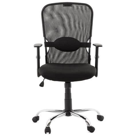 fauteuil bureau tissu fauteuil de bureau modica en tissu noir