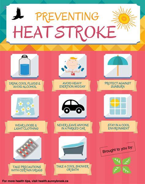 heat stroke 8 ways to avoid heat stroke this summer