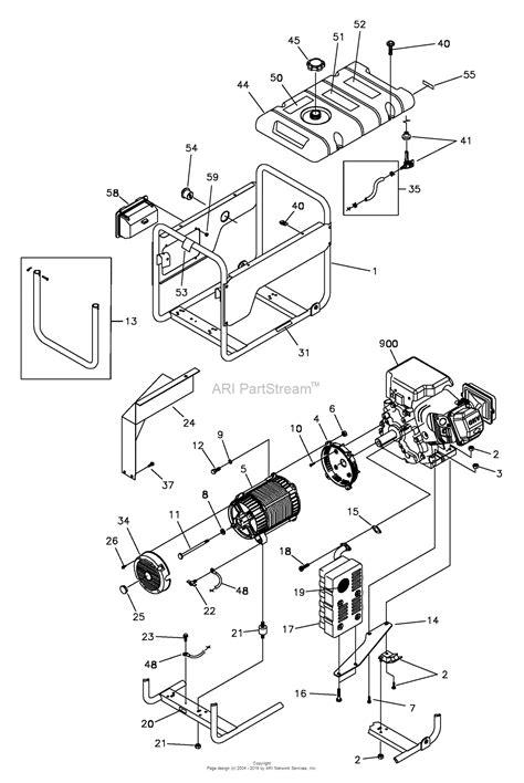 dayton 3zc12 generator wiring diagram dayton parts