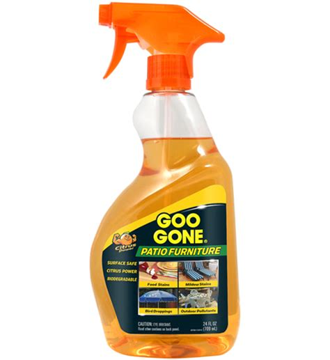 goo gone patio furniture cleaner in household cleaning