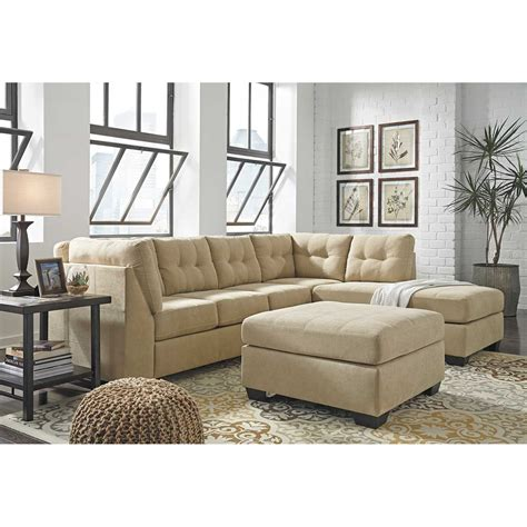 sleeper sectionals with chaise maier cocoa 2 piece sleeper sectional with raf chaise