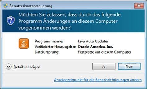 Java Auto Updater by Was Ist Java Update Und Wie 228 Ndere Ich Den Updateplan