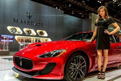 maserati woman photos most girls of chicago autosalon 2015 2016 from