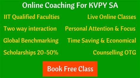 reference books for kvpy sa kvpy experience and tips from kvpy scholar