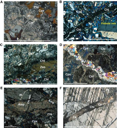sericite in thin section proc iodp 345 hole u1415p